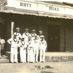 Eastabrook  7 - Dirty Dick's with possibly Tom Moore 2nd right front