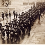 Conscripts - Skegness training, end 1939 3rd row on left end