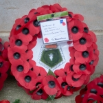 Wreath in Memory of the Men of HMS Dunedin