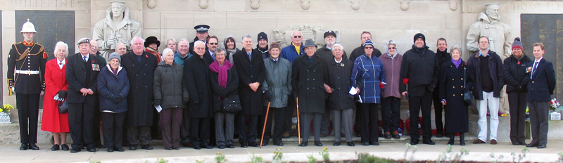 Group at Memorial 2010