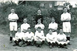 HMS Vincent football team