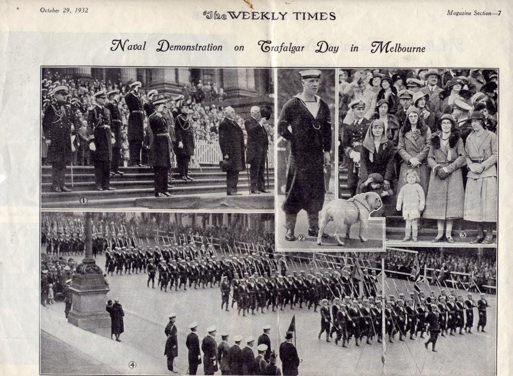 Trafalgar Day 1932
