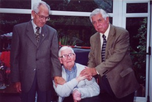 John Miles with Bill Gill and Jim Davis 2002