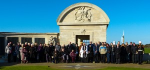 Southsea Memorial group shot - November 2015