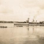 Dunedin 5th Feb 1929, probaby Auckland naval regatta