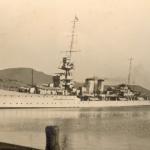 Dunedin at Lyttelton, NZ, 22nd April 1928