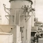 Dunedin deck scene, Napier 1929