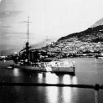 Gibraltar 1924, with HMS Hood