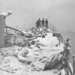 Dunedin in Scapa Flow 25 or 31 Dec 1939