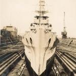 Dunedin in dock, Auckland, NZ Sept 1928