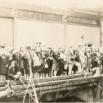Waving goodbye to NZ 1929
