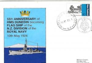 55th Anniversary envelope