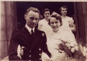 rob rainbow wedding 1951