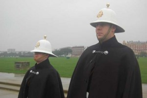 Royal Marine buglers